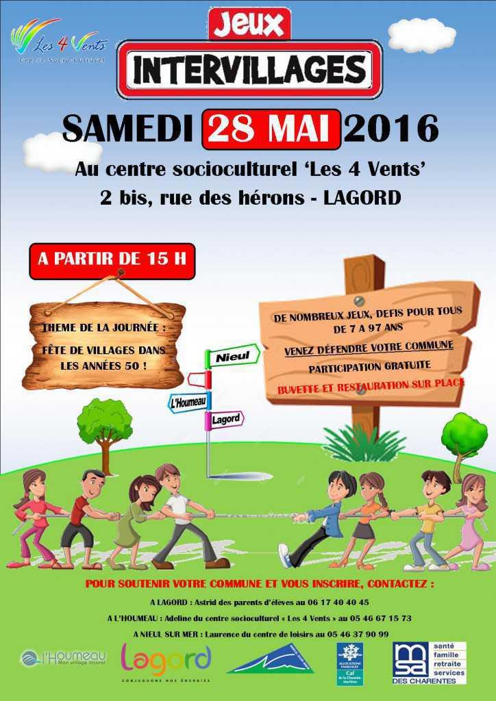 intervillage 28 MAI 2016